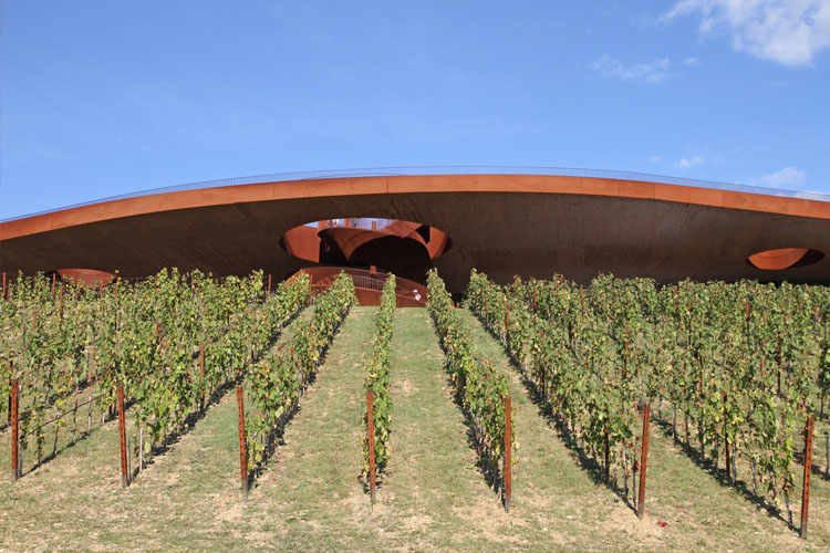 Marchesi Antinori. The newly built Antinori Winery is located at the heart of the Chianti Classico homeland.